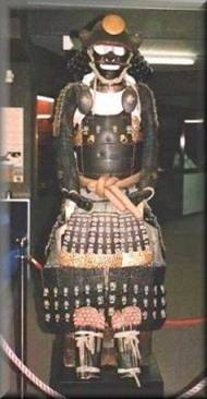Japanese armour construction